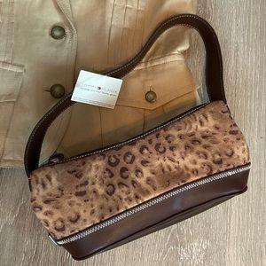 NWT Tommy Hilfiger Leopard mini handbag